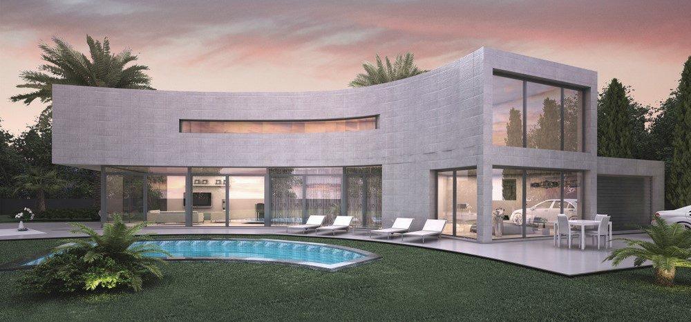 Moderne schlüsselfertige Villa