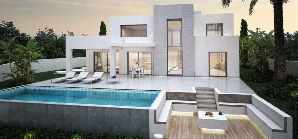 Moderne sleutelklare villa