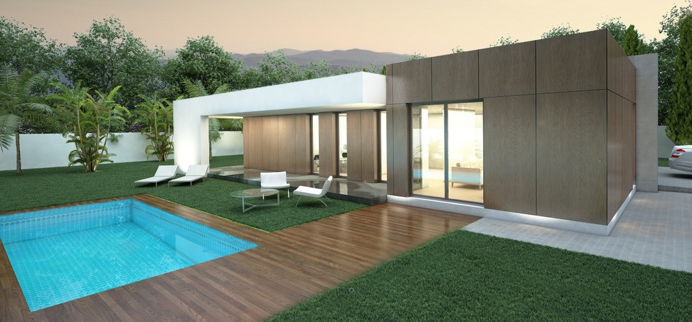 Turnkey eco-villa