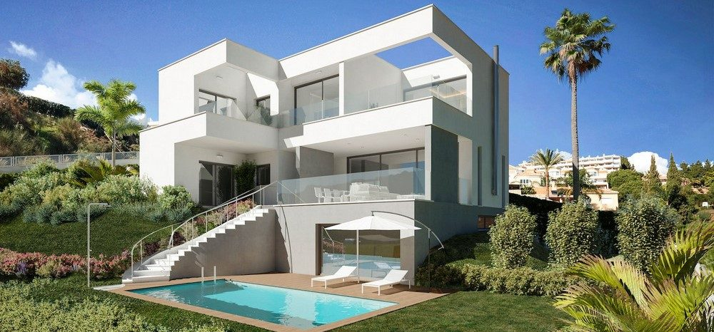 Off plan luxury villa in Calahonda