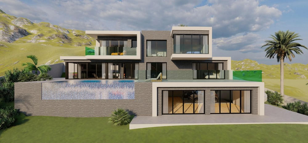 Off plan turnkey villa in La Cala Golf