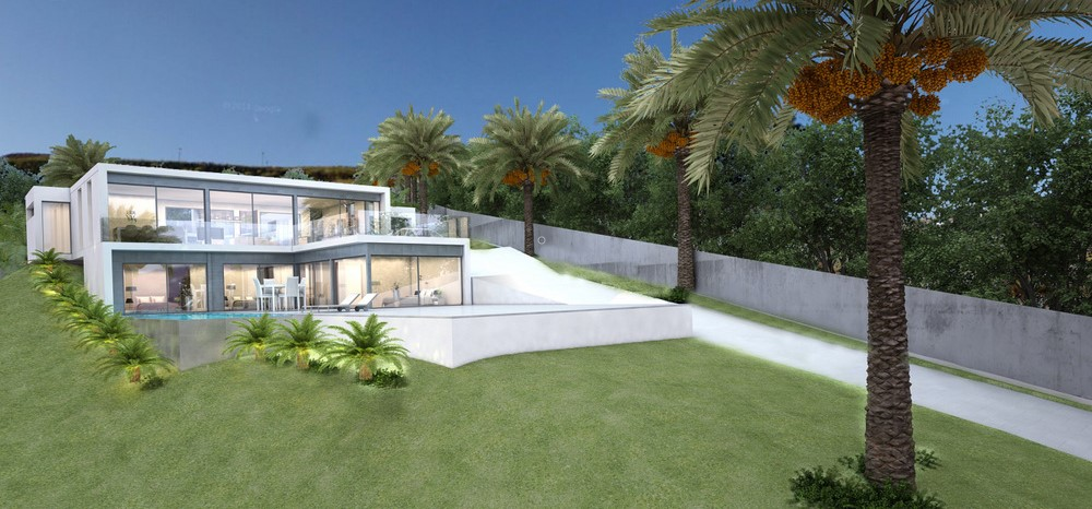 Off plan modern villa in La Cala Golf